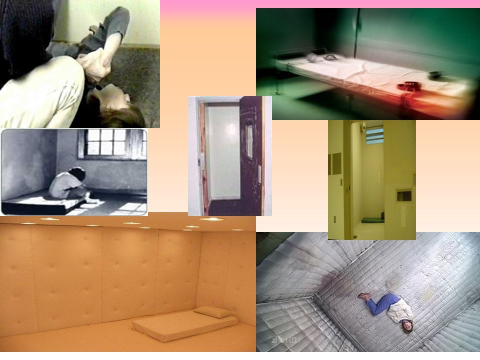 Seclusion rooms. Stark Barren Ugly