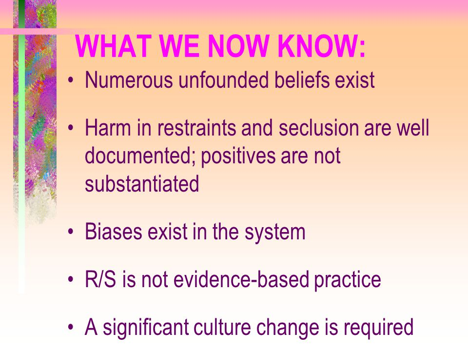 WHAT WE NOW KNOW: Numerous unfounded beliefs exist
