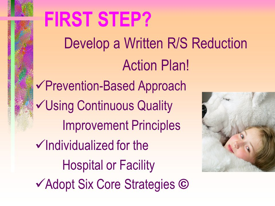 Develop a Written R/S Reduction