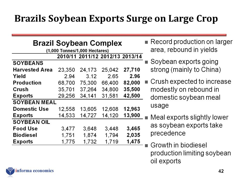 Brazils Soybean Exports Surge on Large Crop