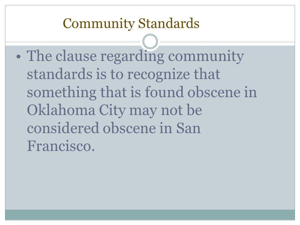 Community Standards