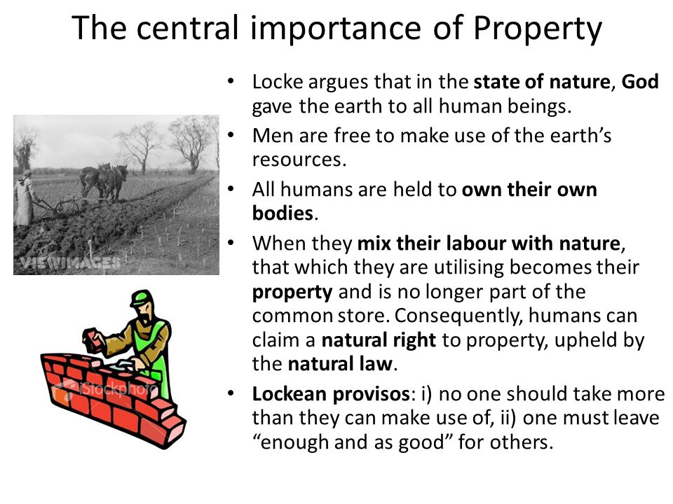 The central importance of Property