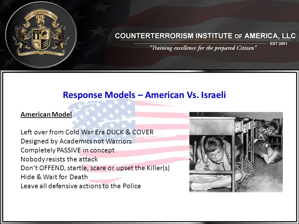 Response Models – American Vs. Israeli