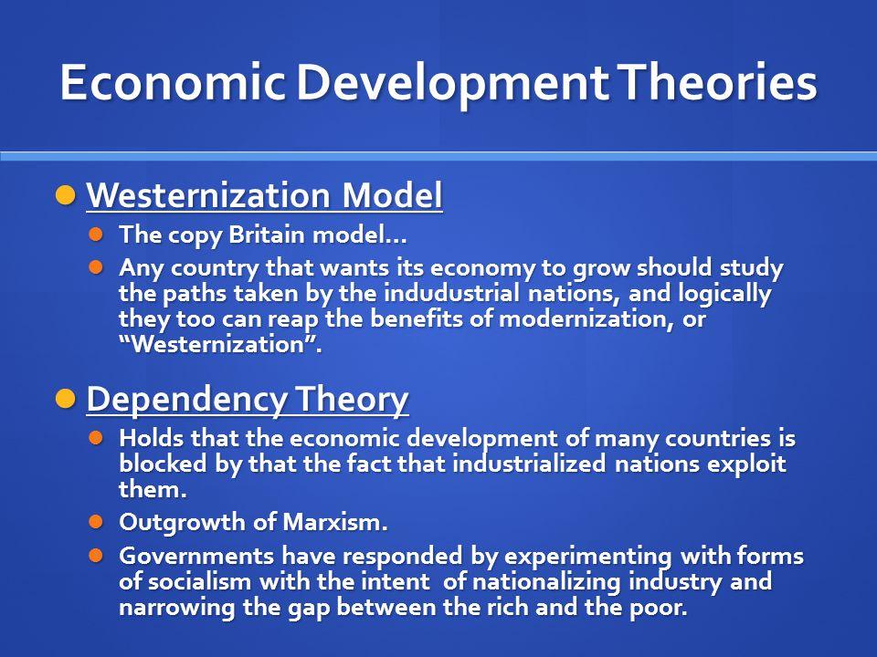 Economic Development Theories