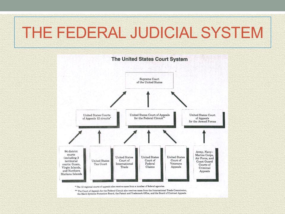 THE FEDERAL JUDICIAL SYSTEM