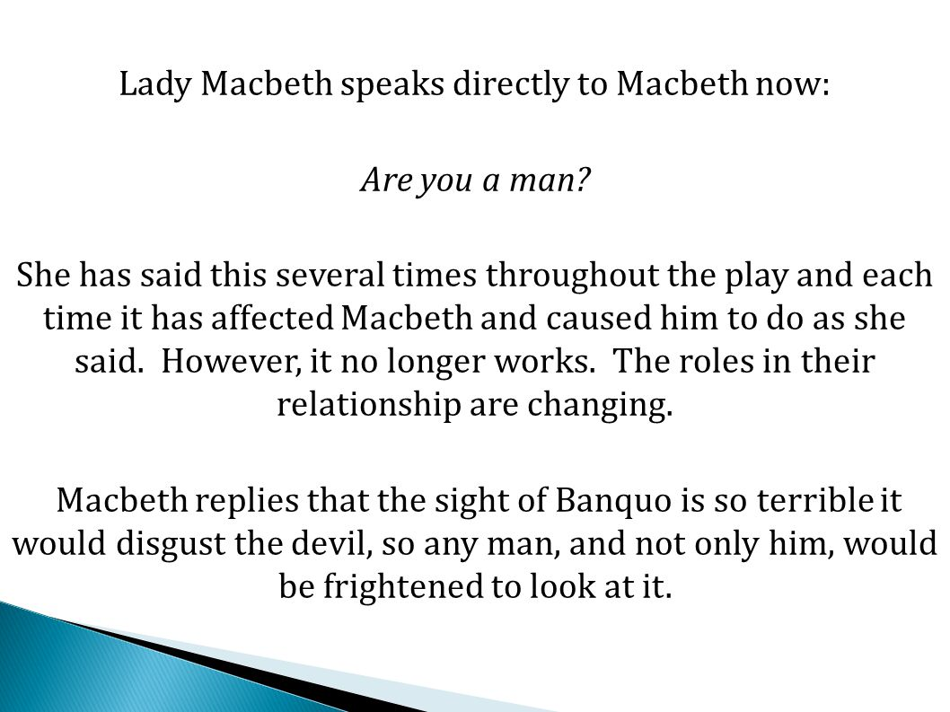 an explanation of the importance of blood in macbeth In macbeth , william shakespeare's that macbeth must at this very moment be washing his hands of the blood of the previous scene then macbeth.