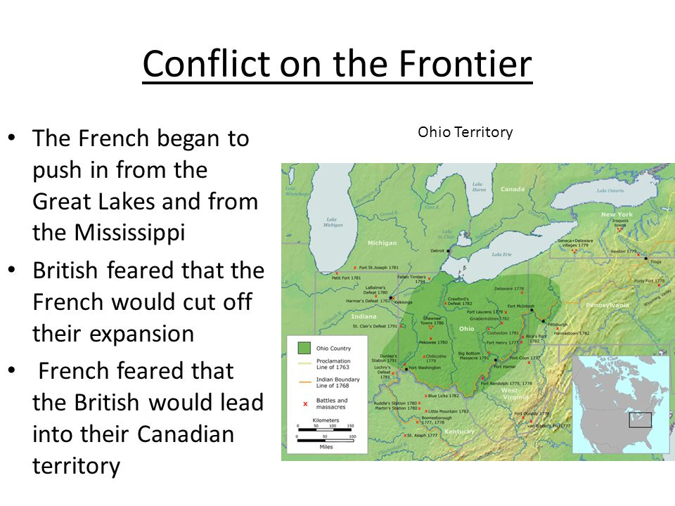 Conflict on the Frontier