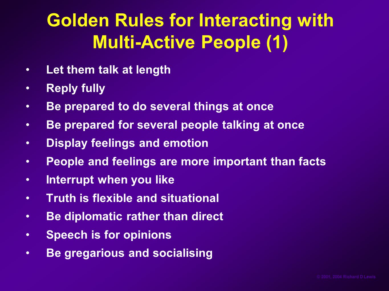 Golden Rules for Interacting with Multi-Active People (1)