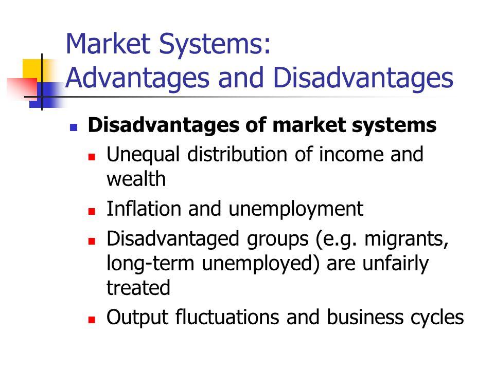 Market Systems: Advantages and Disadvantages