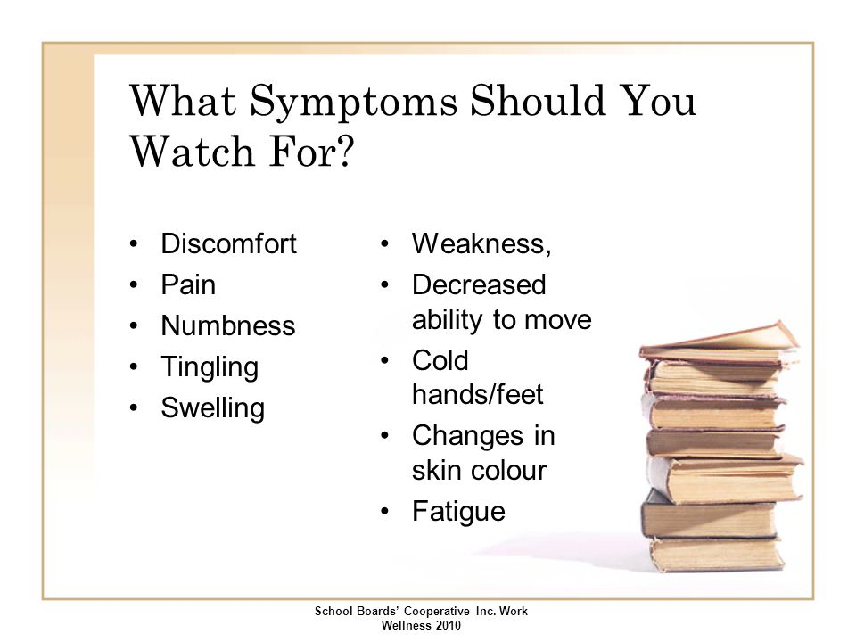 What Symptoms Should You Watch For