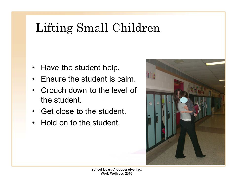 Lifting Small Children