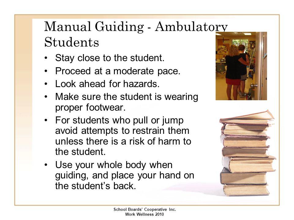 Manual Guiding - Ambulatory Students