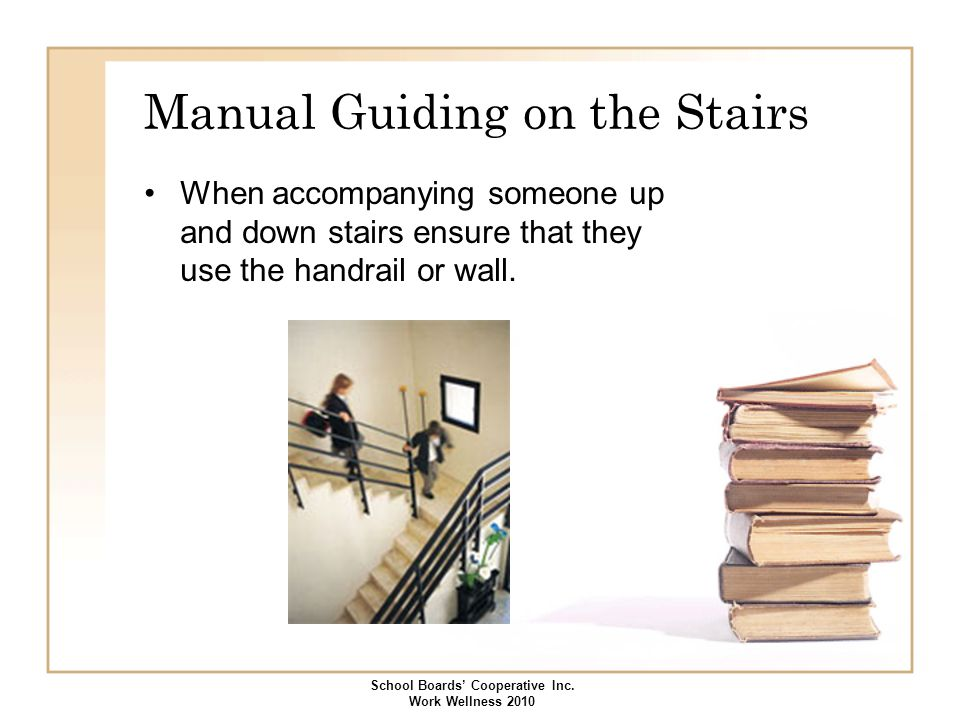 Manual Guiding on the Stairs