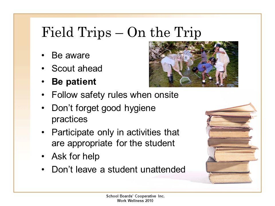 Field Trips – On the Trip