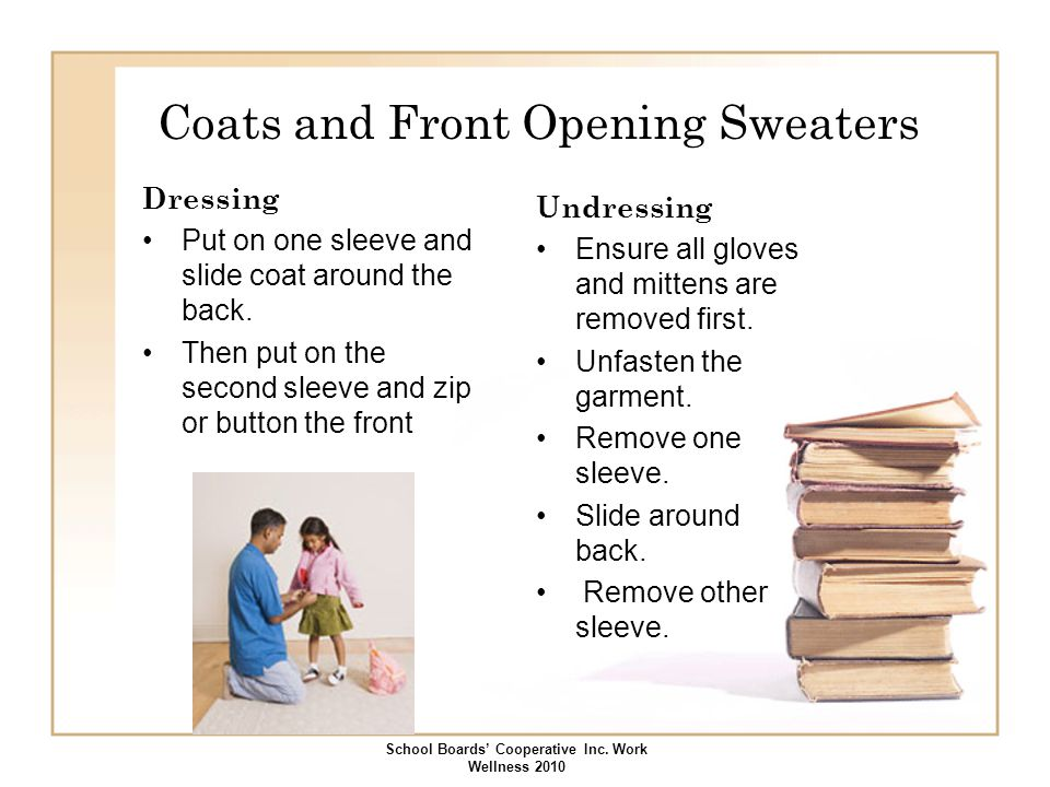 Coats and Front Opening Sweaters