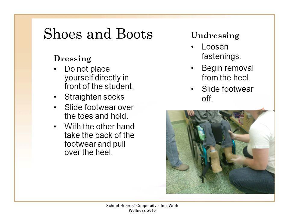 School Boards' Cooperative Inc. Work Wellness 2010