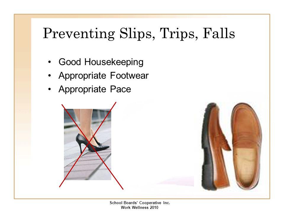 Preventing Slips, Trips, Falls