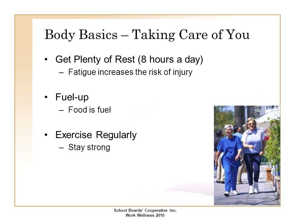 Body Basics – Taking Care of You