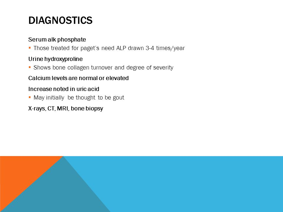 Diagnostics Serum alk phosphate