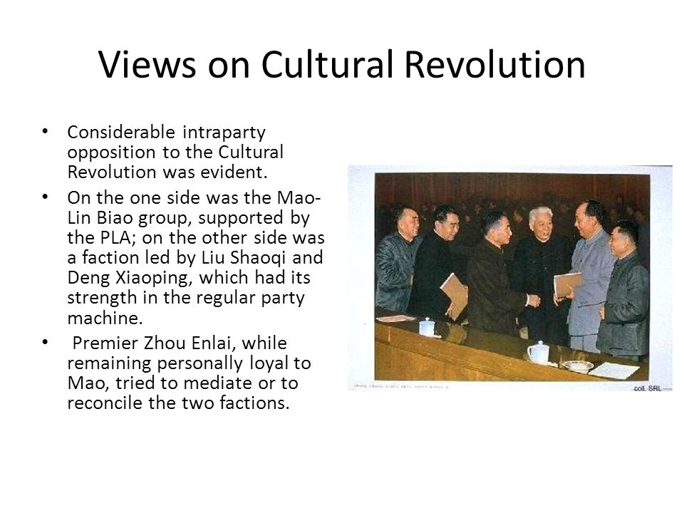 Views on Cultural Revolution