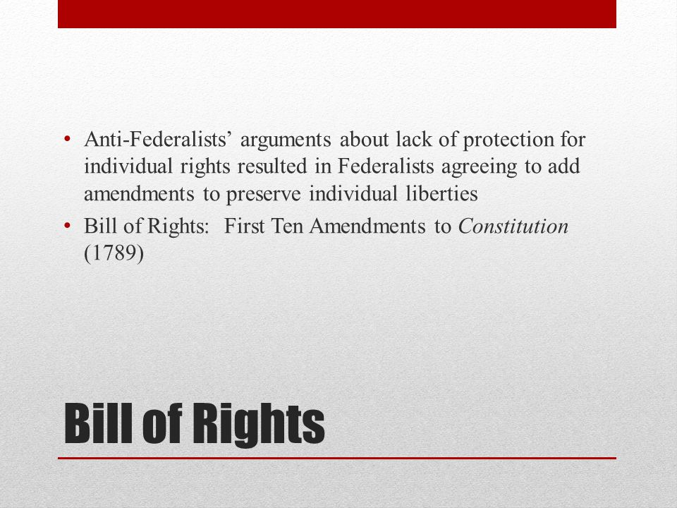 document based document federalists and anti federalists Anti-federalists were those who opposed the development of a strong anti-federalist vs anti-federalists greatly influenced the document.