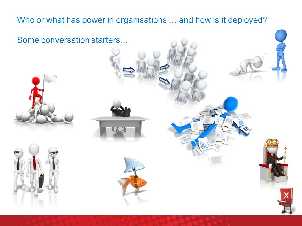 Who or what has power in organisations … and how is it deployed
