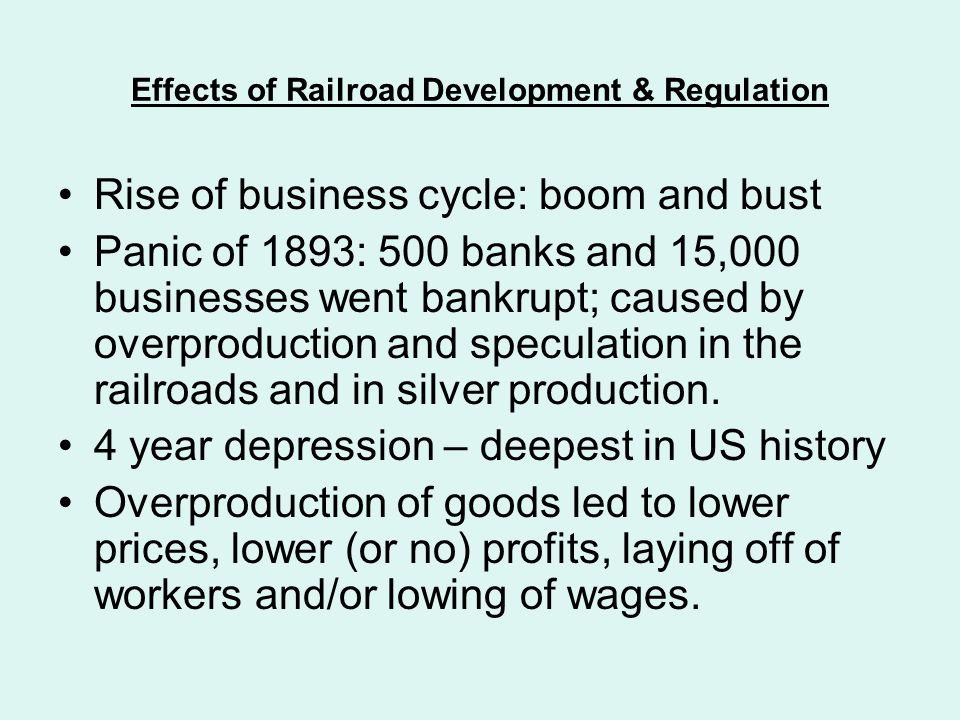 Effects of Railroad Development & Regulation