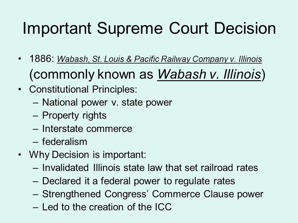 Important Supreme Court Decision