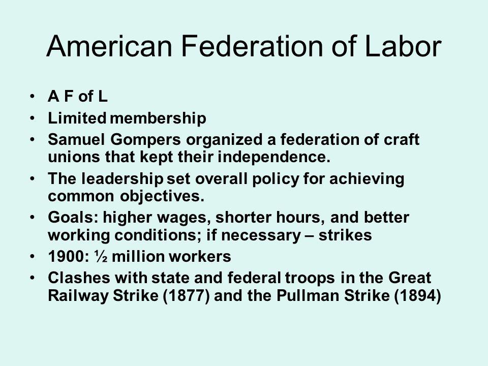 American Federation of Labor