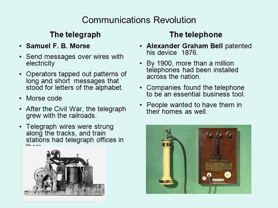 Communications Revolution