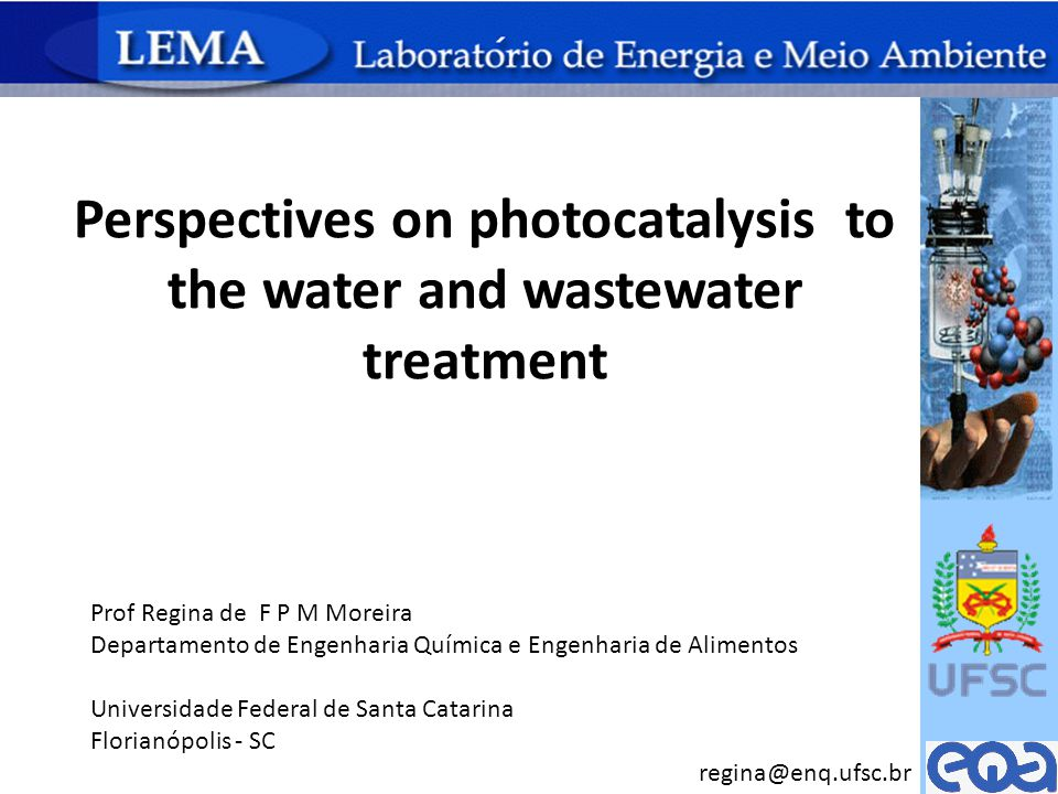 Perspectives on photocatalysis to the water and wastewater treatment