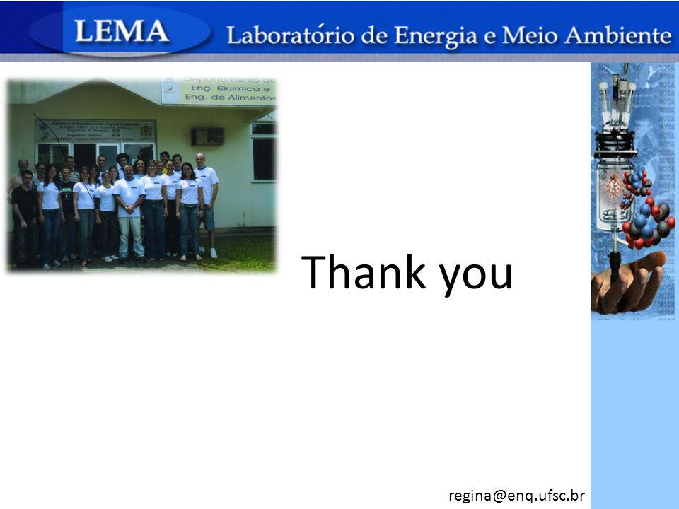Thank you regina@enq.ufsc.br