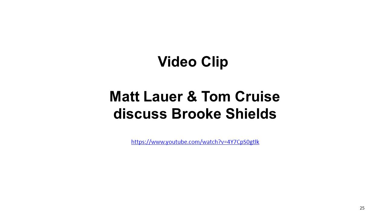 discuss Brooke Shields