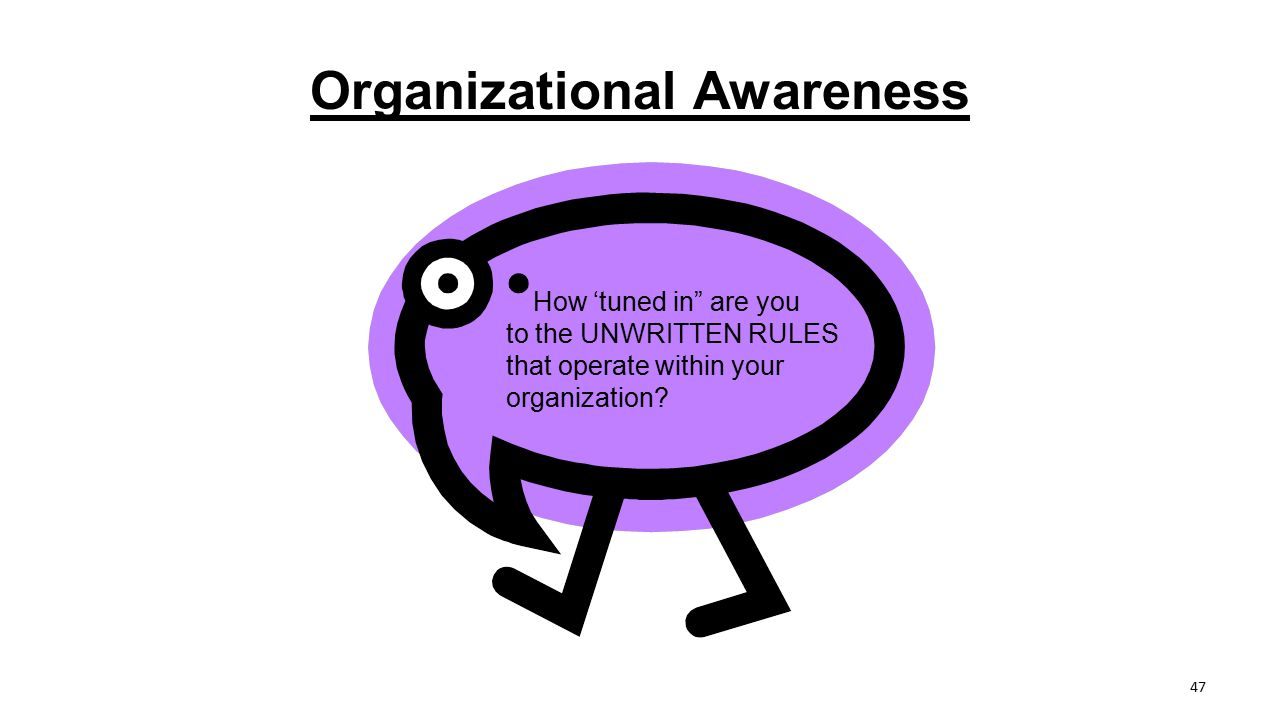 Organizational Awareness