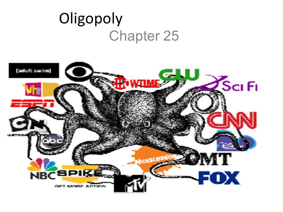 Oligopoly Chapter 25
