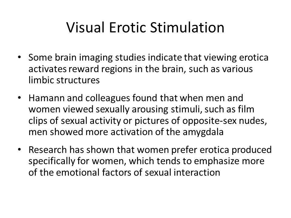 Visual Erotic Stimulation