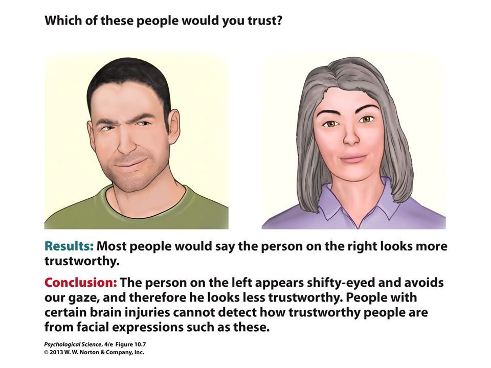 FIGURE 10.7 Try for Yourself: Evaluate Facial Expressions