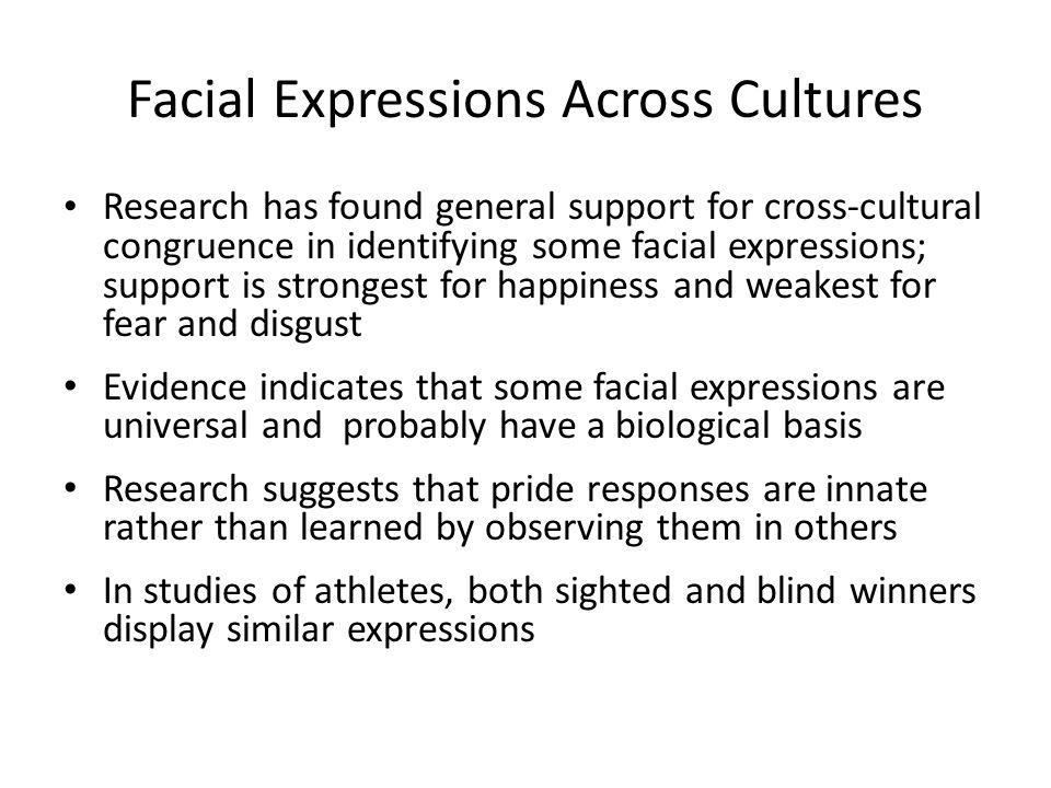 Facial Expressions Across Cultures