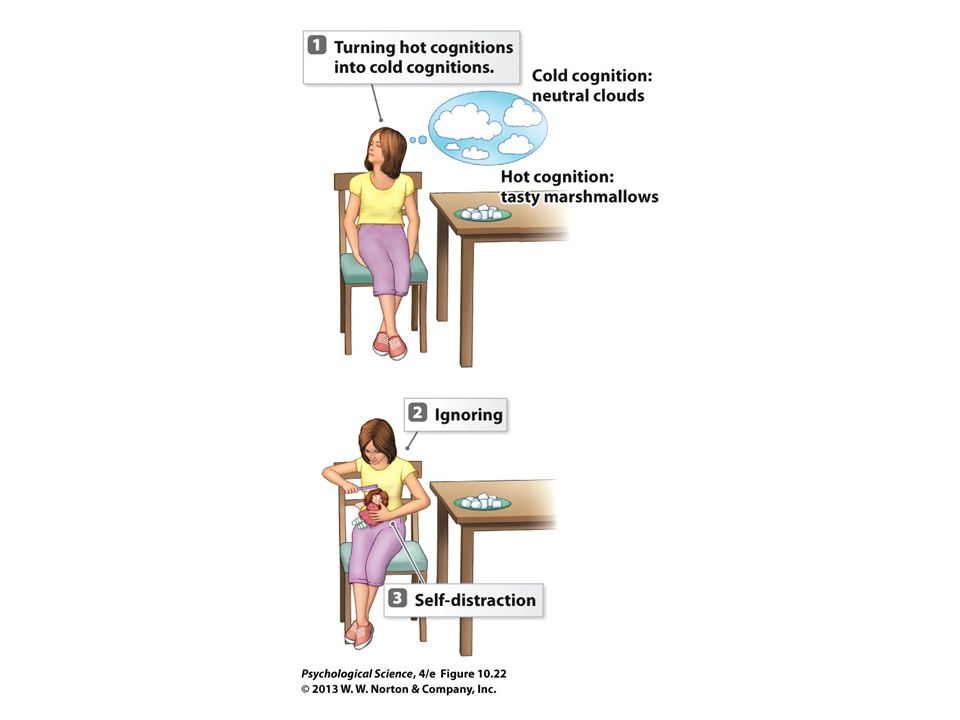 FIGURE 10.22 Techniques for Delaying Gratification