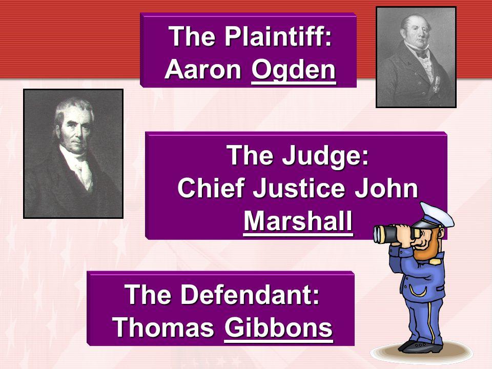 Chief Justice John Marshall