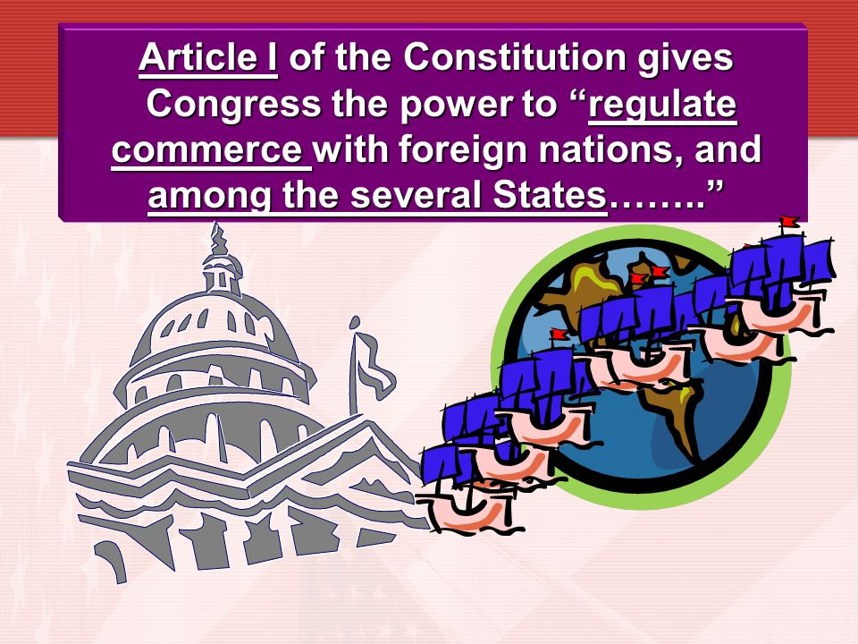 Article I of the Constitution gives
