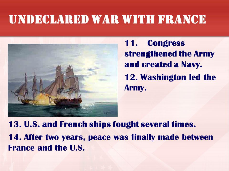 Undeclared War with France