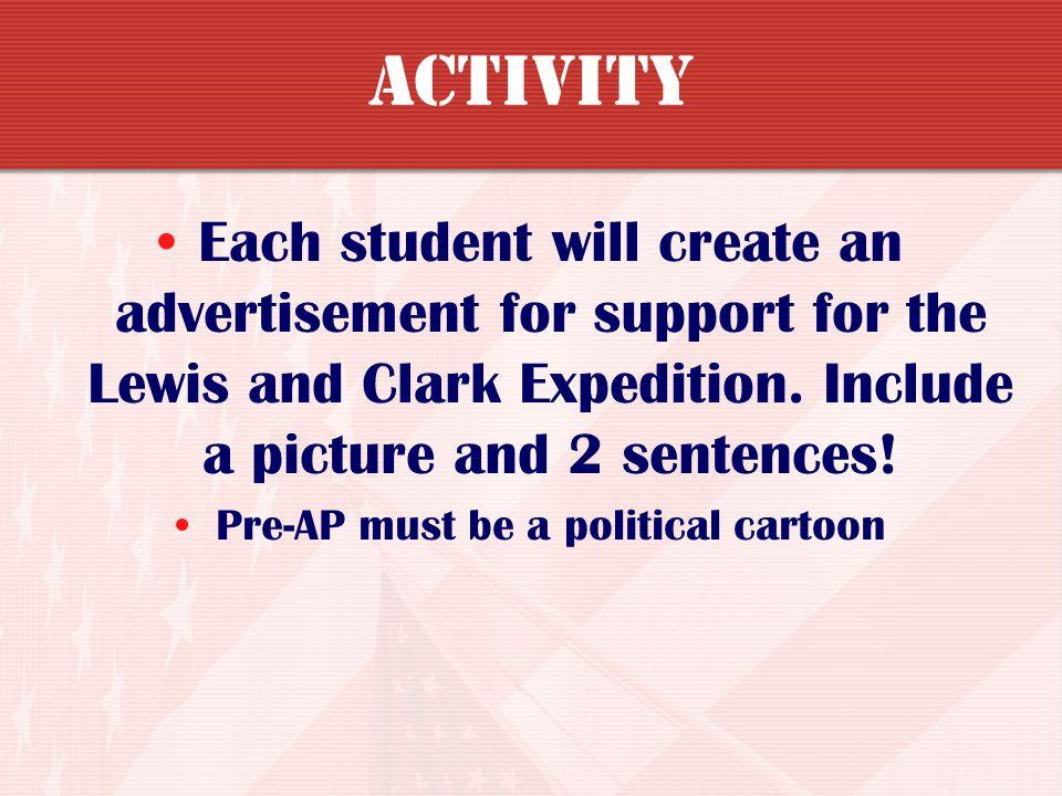 Pre-AP must be a political cartoon