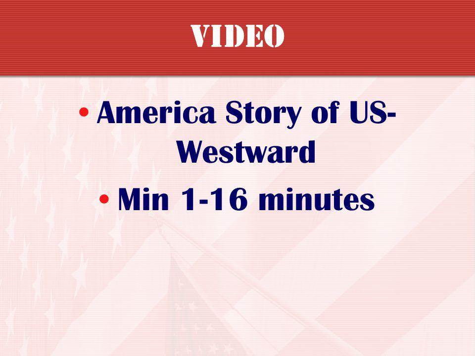 America Story of US-Westward