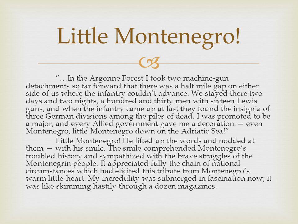 Little Montenegro!