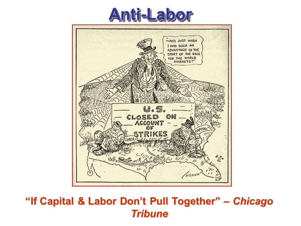 If Capital & Labor Don't Pull Together – Chicago Tribune