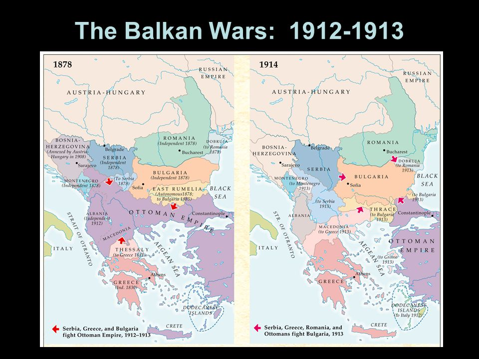The Balkan Wars: 1912-1913