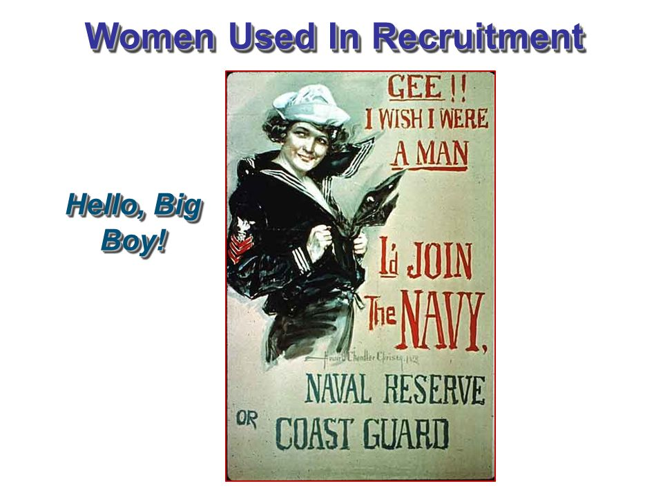 Women Used In Recruitment