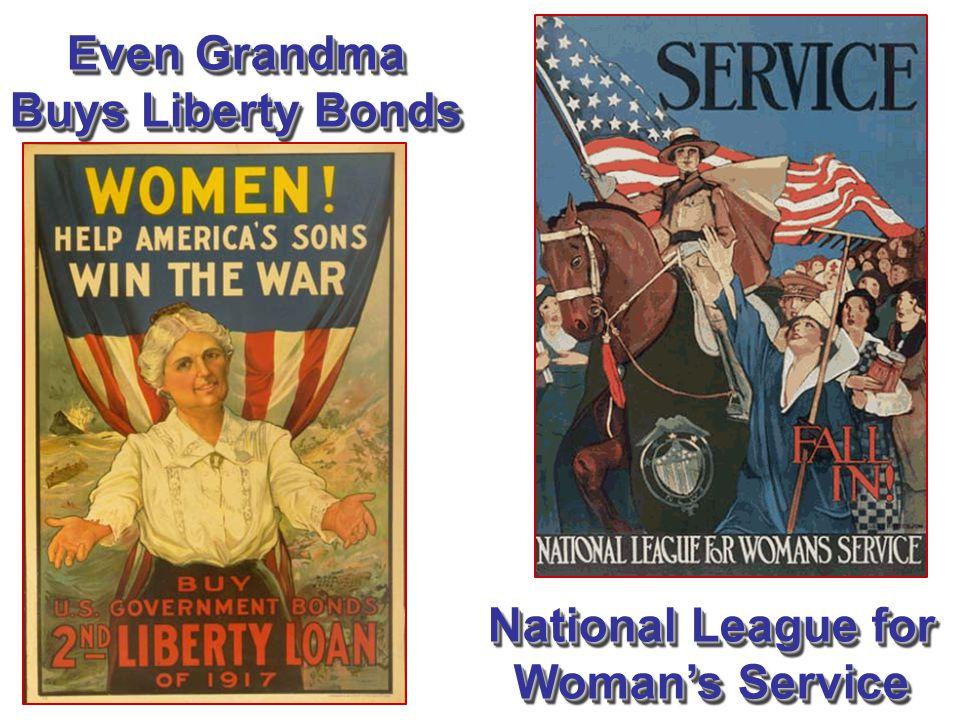Even Grandma Buys Liberty Bonds