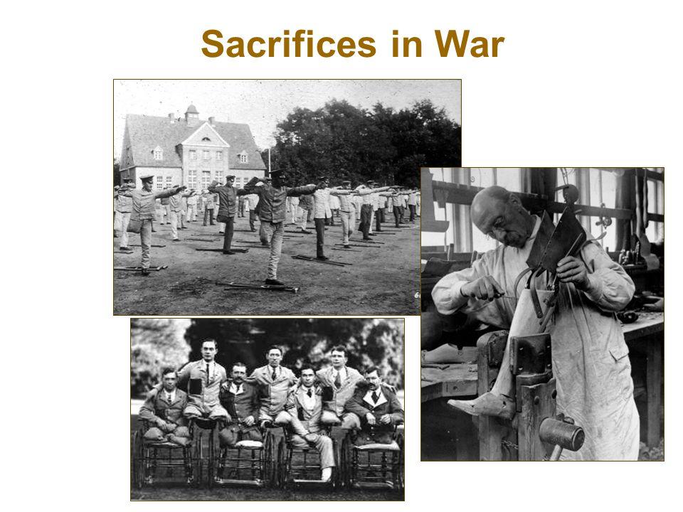 Sacrifices in War